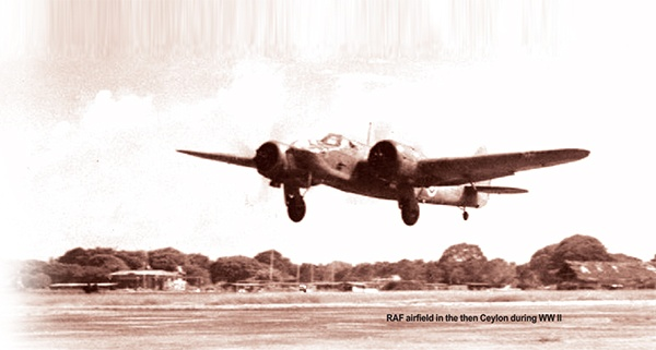 island.lk: Lankans who volunteered for service with the Royal Air Force during World War 2