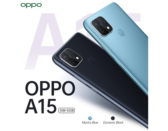 OPPO launches OPPO A15
