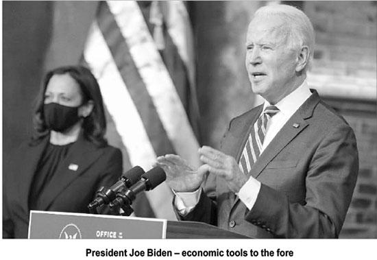 Biden admn. begins on reconciliatory note – The Island