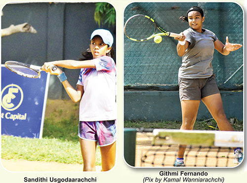 Open semis today, semi-finalists found in U12 category