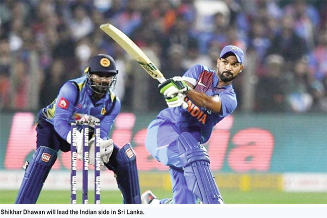 Dates announced for India's tour of Sri Lanka