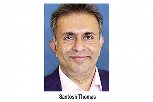 Virtusa appoints Santosh Thomas as CEO