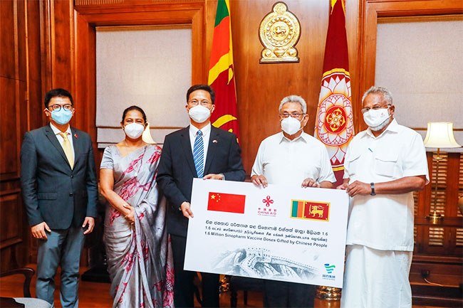 North and East to benefit from 1.6 mn Sinopharm doses donated by China